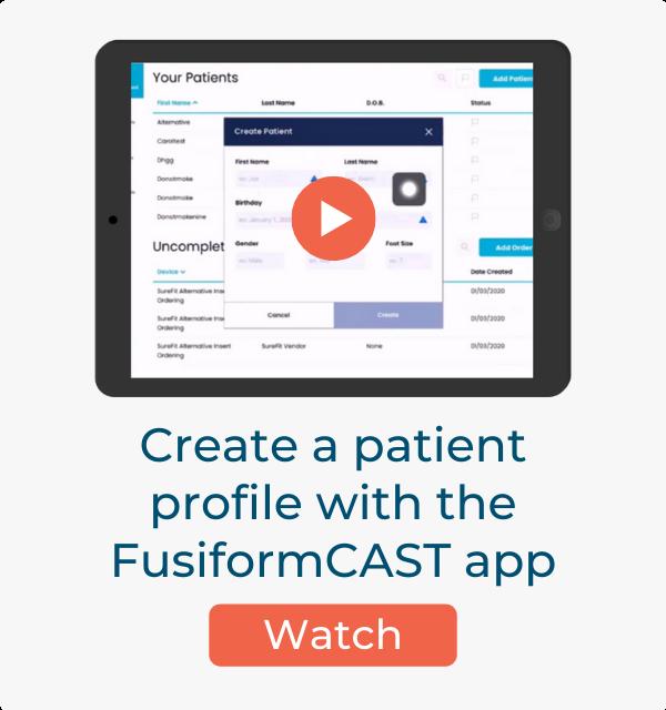 Create Patient Profile Video Card